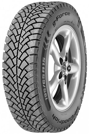 185/60R15 BFGoodrich G-Force Stud 88Q XL шип TL